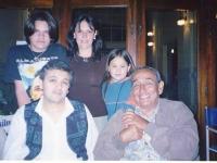Con Jaime Torres la primera vez que estuvo junto al Coro Polifónico de Las Flores