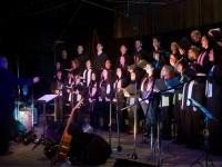 El Coro Polifónico de Las Flores en el Teatro Español