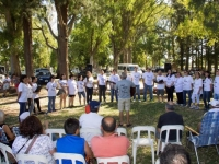 2015 - encuentro Aphogard en el Parque Plaza Montero